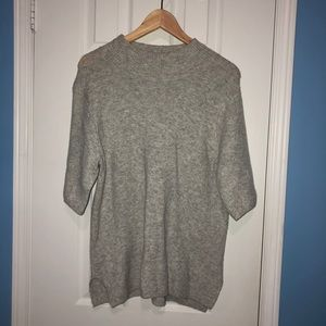 Adrienne Vittadini Grey Sweater